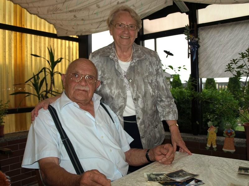 Josef i Elisabeth Moczko u Webrów