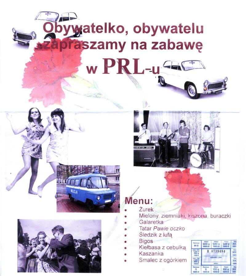 Plakat z imprezy