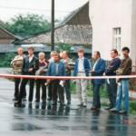 W roku 1989 udział w uroczystościach otwarcia nowej asfaltowej ulicy Kościelne.