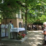 Nabożeństwo z udziałem trzech parafii w 2018 roku,